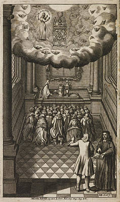 Frontispiece To 'book Of Common Prayer' Poster by British Library