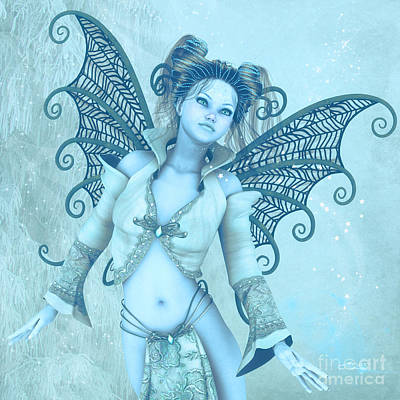 Frost Fairy Poster
