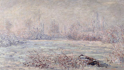 Frost Near Vetheuil Poster