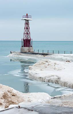 Frozen Beach Poster