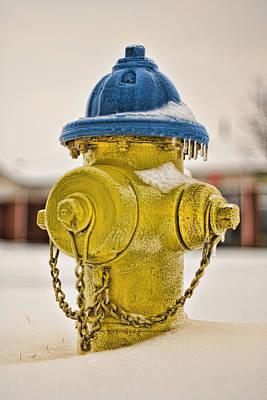 Frozen Fire Hydrant Poster by Brett Engle