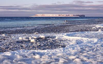 Frozen Shore Poster