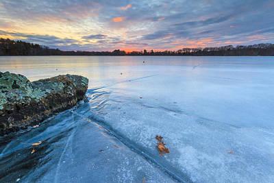 Frozen Sunset Poster