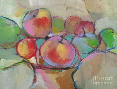 Poster featuring the painting Fruit Bowl #5 by Michelle Abrams