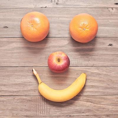 Fruit Face Poster