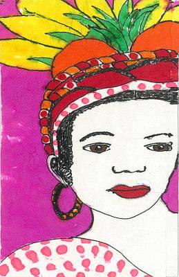 Fruit Hat Poster