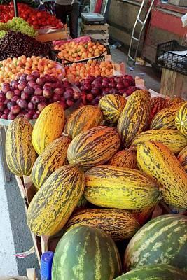 Fruit Market Stall Poster