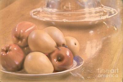 Fruit Still Life Poster by Cindy Garber Iverson