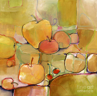 Poster featuring the painting Fruit Still Life by Michelle Abrams
