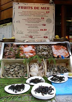 Poster featuring the photograph Fruits De Mer by Cleaster Cotton