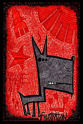 3 Eyed Dog Poster by Josh Brown
