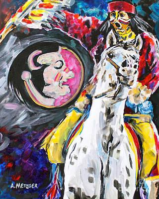 Fs Mascot Poster by Alan Metzger