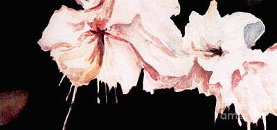 Fuchsias Poster by Joyce Gebauer