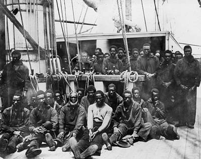 Fugitive Slaves, 1862 Poster
