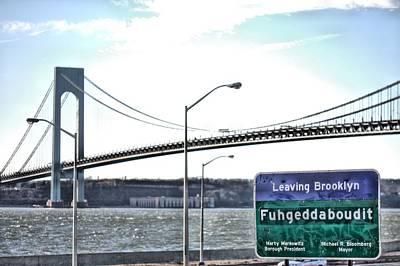 Fuhgeddaboudit Poster by JC Findley