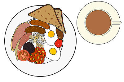 Full English Breakfast Poster