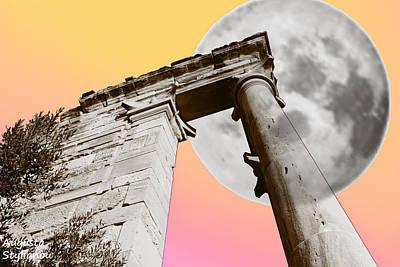 Full Moon At Apollo Poster