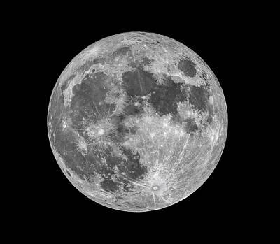Full Moon Poster by Dennis Bucklin