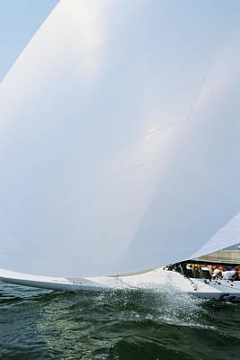 Full Spinnaker - Lake Geneva Wisconsin Poster by Bruce Thompson