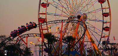 Fun At The Fair Poster by David Lee Thompson