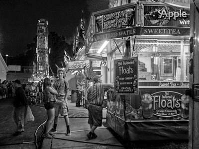 Fun At The Fair Poster by Linda Unger