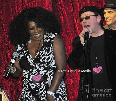 Poster featuring the photograph Funky Fun With Ladya White And Lloyd Jones by Tonia Noelle