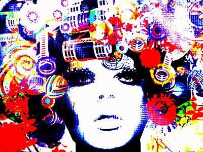 Funky Hair In Bali Poster by Funkpix Photo Hunter