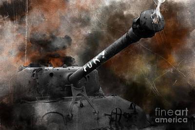 Fury Poster by J Biggadike
