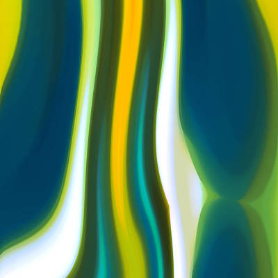 Abstract Tide 7 Poster by Amy Vangsgard