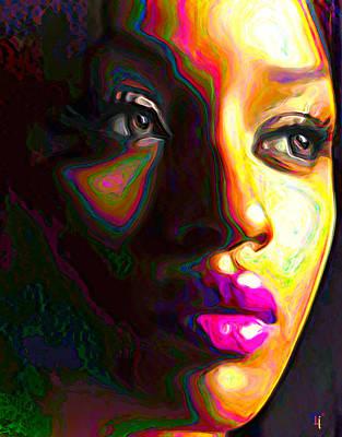 Fuschia Poster by  Fli Art