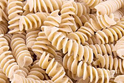 Fusilli Rotini Pasta  Poster by Vizual Studio