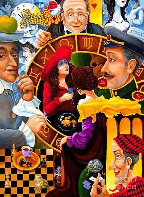 Future Talk On Four Kings Poster by Igor Postash