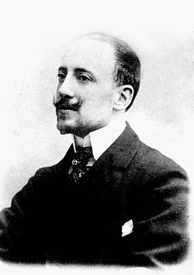 Gabriele D'annunzio Poster by Collection Abecasis