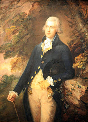 Gainsborough's Francis Bassat -- Lord De Dunstanville Poster