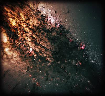 Galaxy Centaurus A Poster