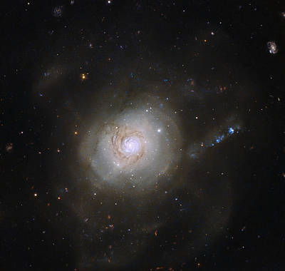 Galaxy Ngc 7252, Atoms For Peace Poster