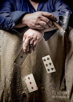 Gambling Man Poster by Amanda Elwell