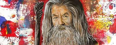 Gandalf Poster by Anastasis  Anastasi