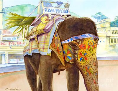 Ganesh Poster by Amanda Schuster