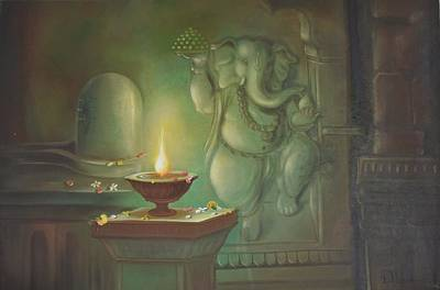 Ganesha Buddhipriya Poster