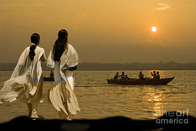 Ganges Every Day Poster by Angelika Drake