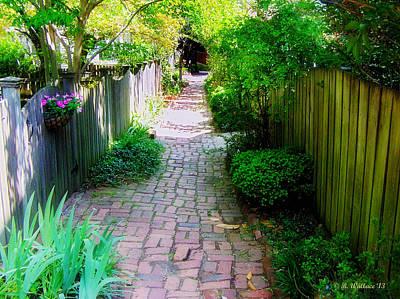 Garden Alley Poster
