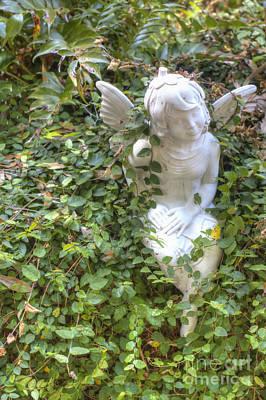 Garden Angel Poster