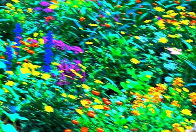 Garden Breeze Poster