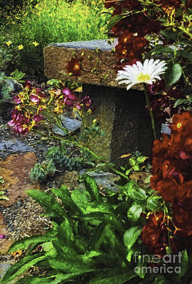 Garden Color Poster by Nancy Marie Ricketts