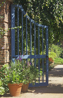 Poster featuring the photograph Garden Gate by Kathleen Scanlan