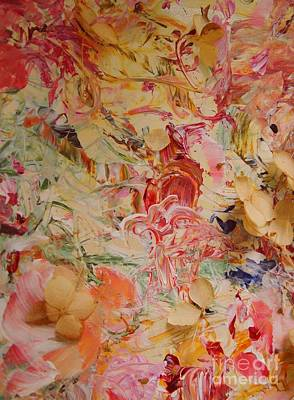 Garden Of Delight Poster by Nancy Kane Chapman