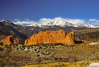Garden Of The Gods - Colorado Springs Poster