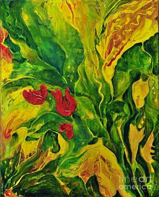 Garden Series No.2 Poster by Teresa Wegrzyn