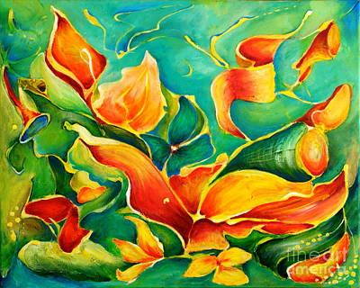 Garden Series No.3 Poster by Teresa Wegrzyn